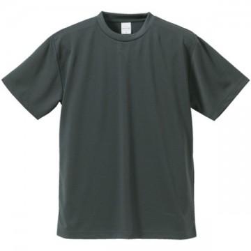 4.1オンスドライアスレチックTシャツ173.ガンメタル