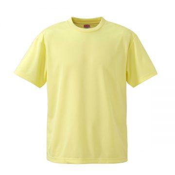 4.1オンスドライアスレチックTシャツ487.ライトイエロー