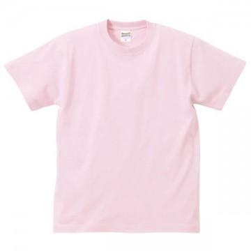 ハイクオリティーTシャツ495.ライトピンク