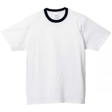 ヘビーウェイトTシャツ705.ホワイト×ブラック