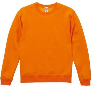T/Cクルーネックスウェット064.オレンジ