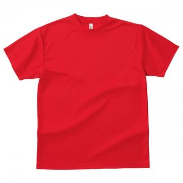 ドライTシャツ010.レッド