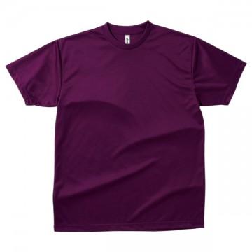 ドライTシャツ014.パープル