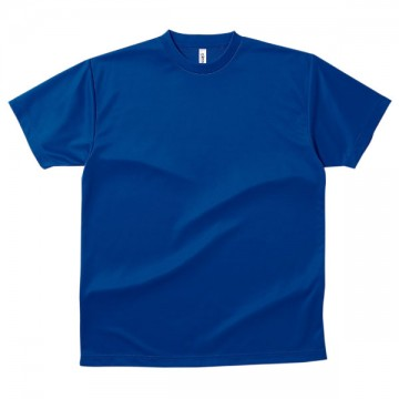 ドライTシャツ032.ロイヤルブルー