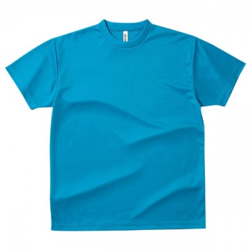 ドライTシャツ034.ターコイズ