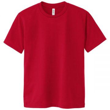 ドライTシャツ035.ガーネットレッド