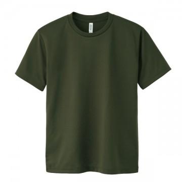 ドライTシャツ037.アーミーグリーン
