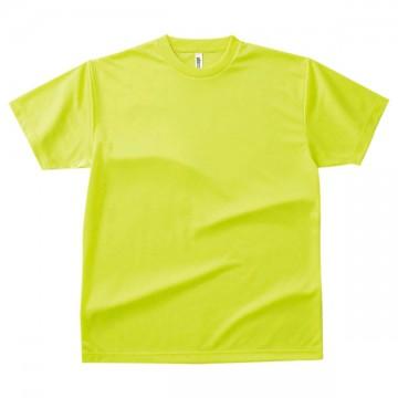 ドライTシャツ047.蛍光イエロー