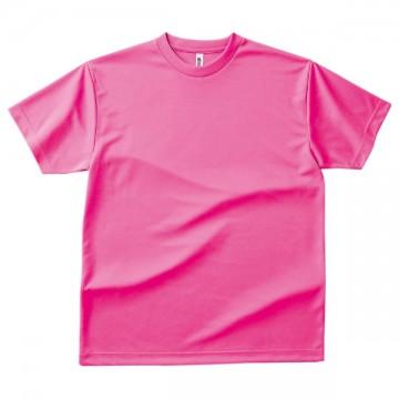 ドライTシャツ049.蛍光ピンク