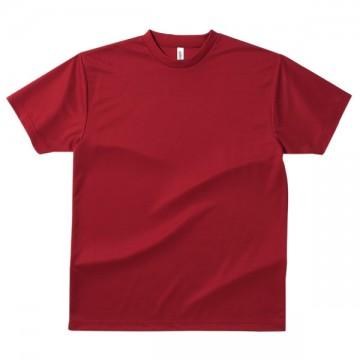 ドライTシャツ112.バーガンディ