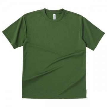 ドライTシャツ128.オリーブ