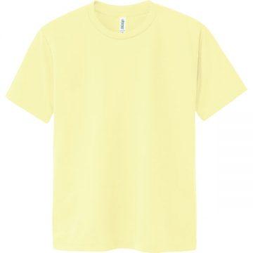 ドライTシャツ134.ライトイエロー