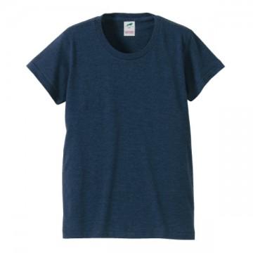 トライブレンドTシャツ594.ヴィンテージヘザーネイビー
