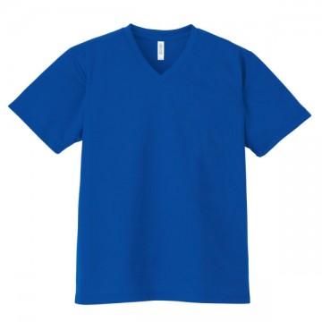 4.4オンスドライVネックTシャツ032.ロイヤルブルー