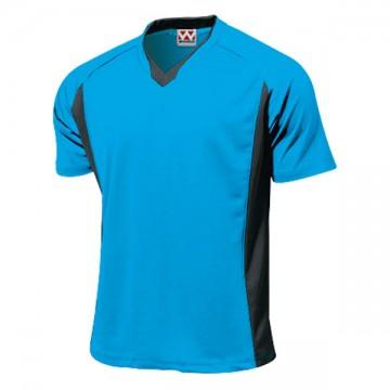 ベーシックサッカーシャツ02.ターコイズ