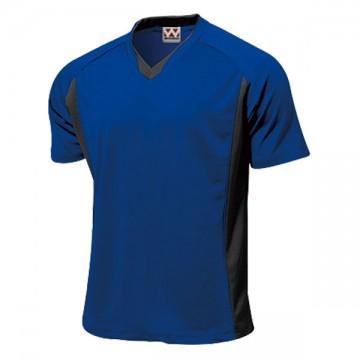 ベーシックサッカーシャツ05.ロイヤルブルー