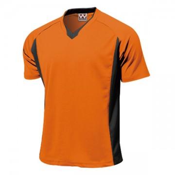 ベーシックサッカーシャツ15.オレンジ