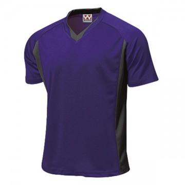 ベーシックサッカーシャツ40.プラム