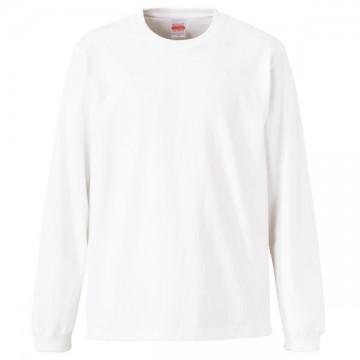 スーパーヘビーウエイト7.1オンスロングスリーブTシャツ001.ホワイト