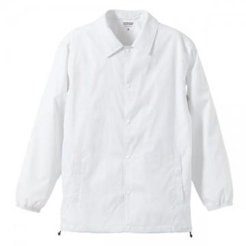 ナイロンコーチジャケット001.ホワイト