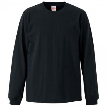 スーパーヘビーウエイト7.1オンスロングスリーブTシャツ002.ブラック