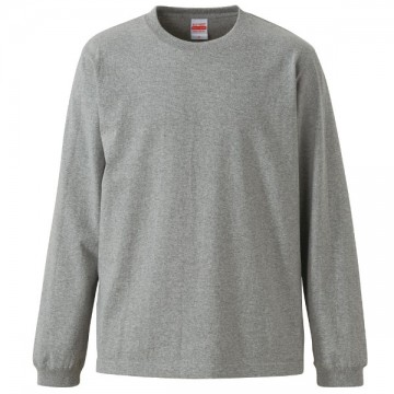 スーパーヘビーウエイト7.1オンスロングスリーブTシャツ006.ミックスグレー