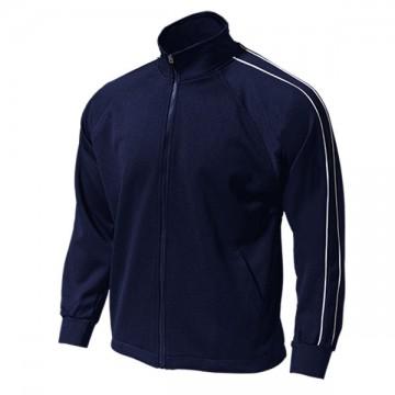 パイピングトレーニングシャツ01.ネイビー