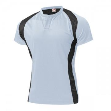 ラグビーシャツ00.ホワイト