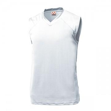 ベーシックバスケットシャツ00.ホワイト