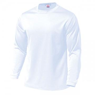ドライライト長袖Tシャツ00.ホワイト