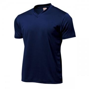 ドライライトVネックTシャツ01.ネイビー