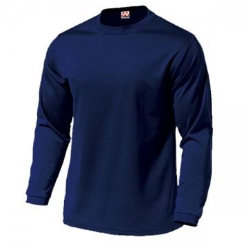 ドライライト長袖Tシャツ01.ネイビー