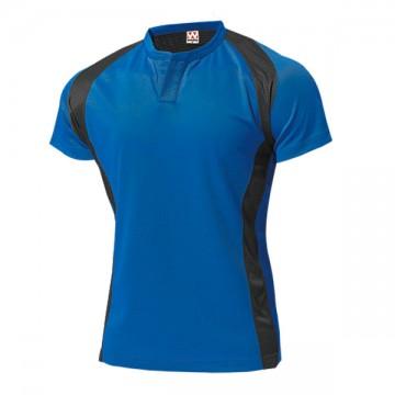 ラグビーシャツ03.ブルー
