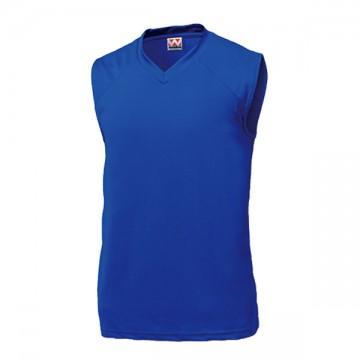 ベーシックバスケットシャツ05.ロイヤルブルー