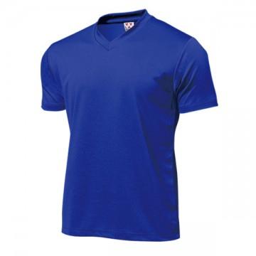 ドライライトVネックTシャツ05.ロイヤルブルー