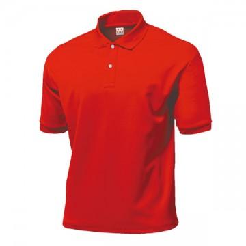 タフドライポロシャツ11.レッド