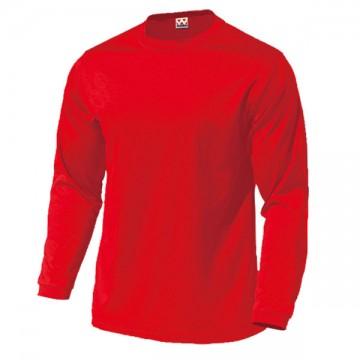 ドライライト長袖Tシャツ11.レッド