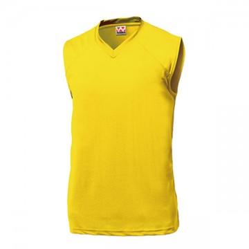 ベーシックバスケットシャツ21.イエロー
