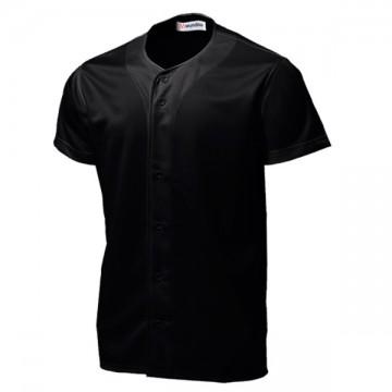 ベーシックボールシャツ34.ブラック