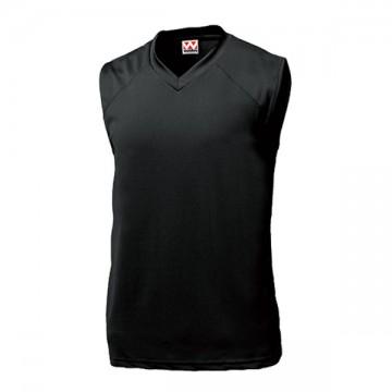 ベーシックバスケットシャツ34.ブラック