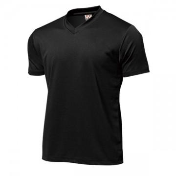 ドライライトVネックTシャツ34.ブラック