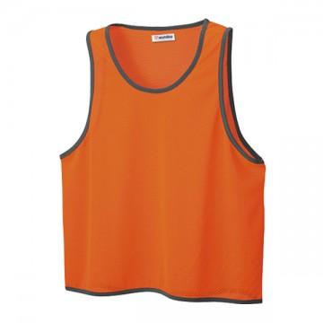 ベーシックビブス72.蛍光オレンジ