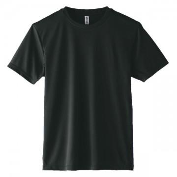 インターロックドライTシャツ005.ブラック