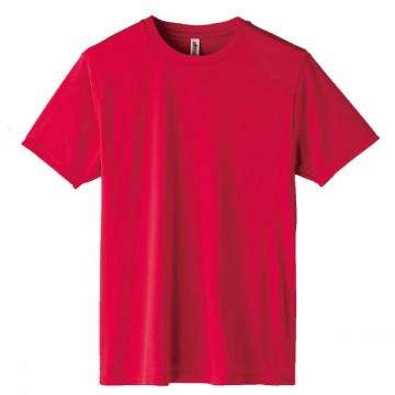 インターロックドライTシャツ010.レッド