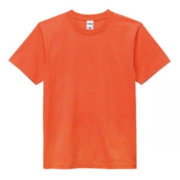 ヘビーウエイトTシャツ13.オレンジ