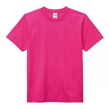 ヘビーウエイトTシャツ29.ショッキングピンク