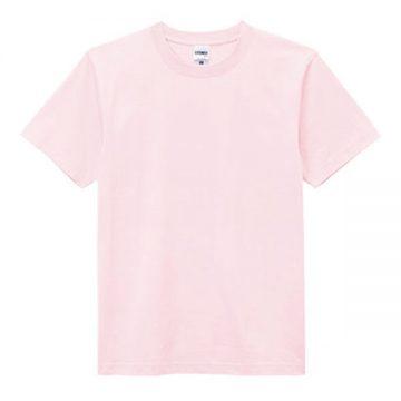 ヘビーウエイトTシャツ9.ライトピンク