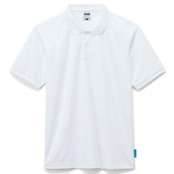 4.6オンスポロシャツ15.ホワイト