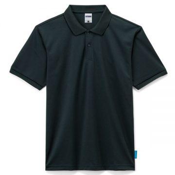 4.6オンスポロシャツ16.ブラック