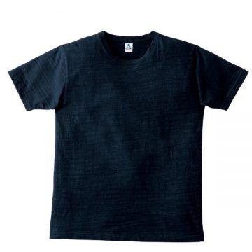 スラブTシャツ8.ネイビー